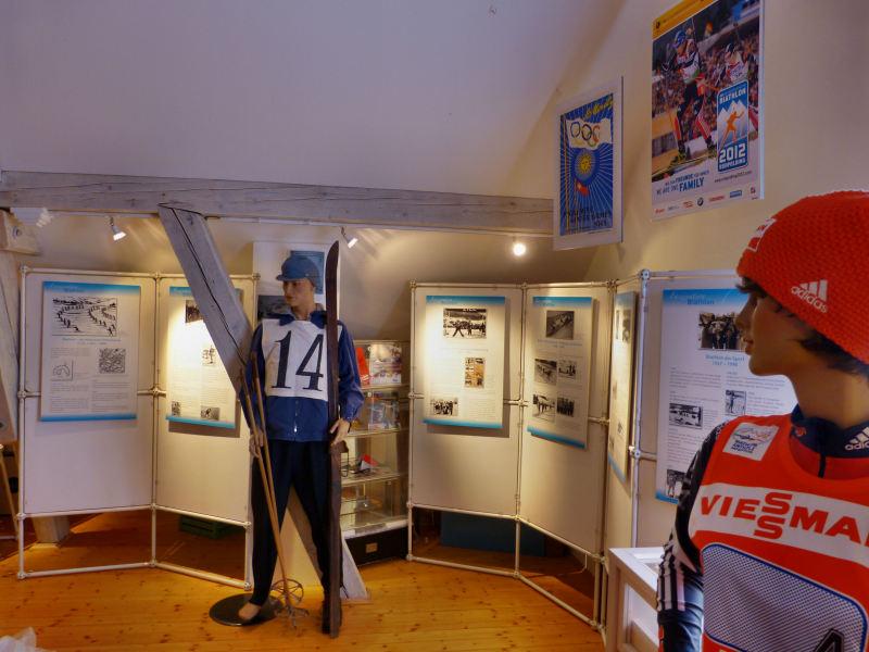 Sonderausstellung Biathlon