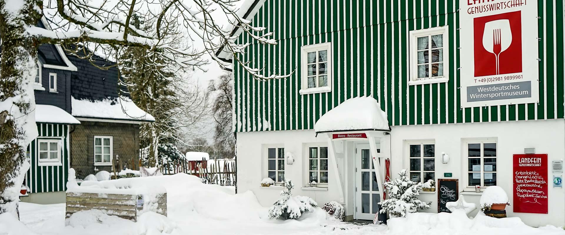 Schultenhof im Winter