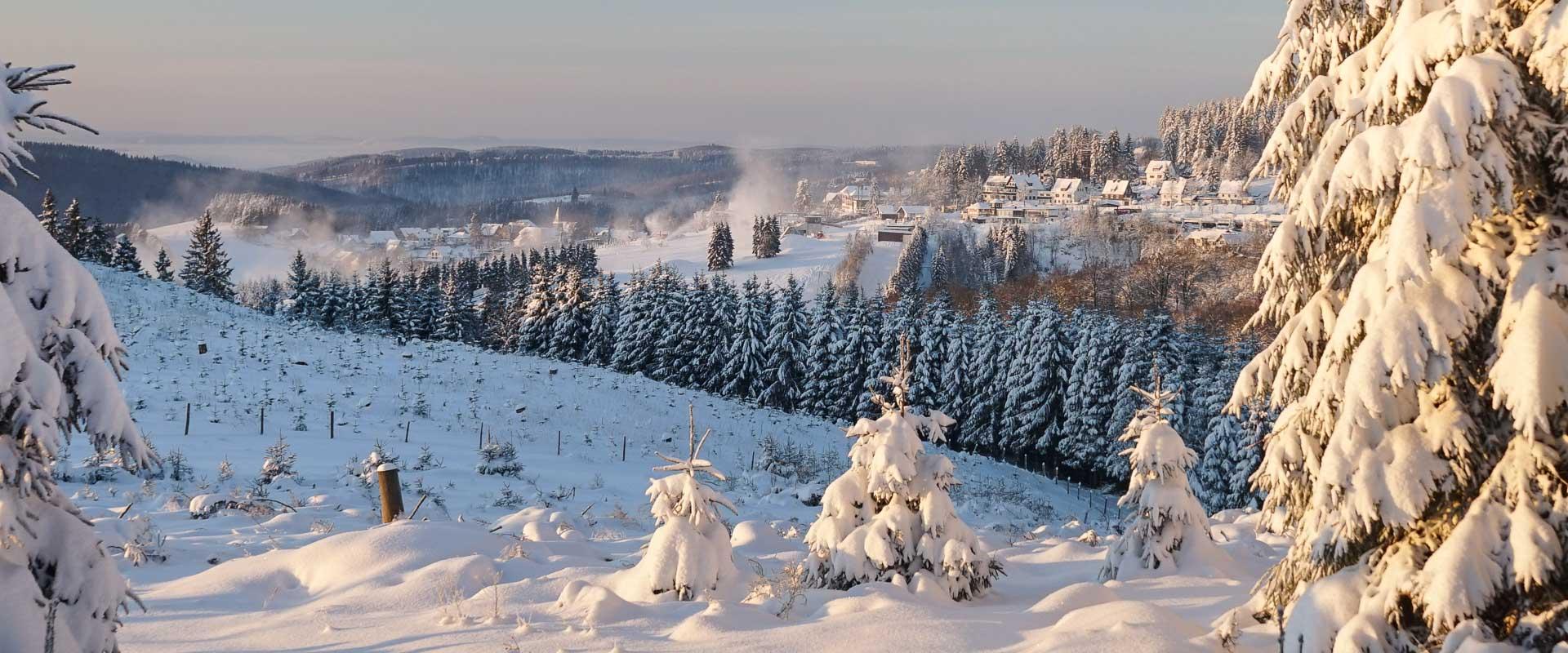 Winterzauber in Neuastenberg
