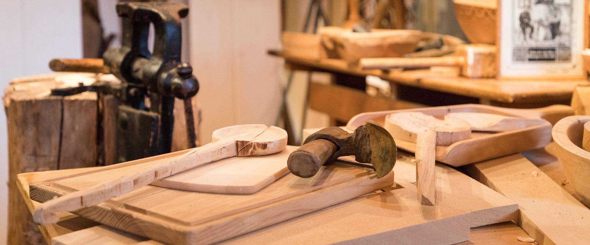 Löffelschnitzer-Werkstatt
